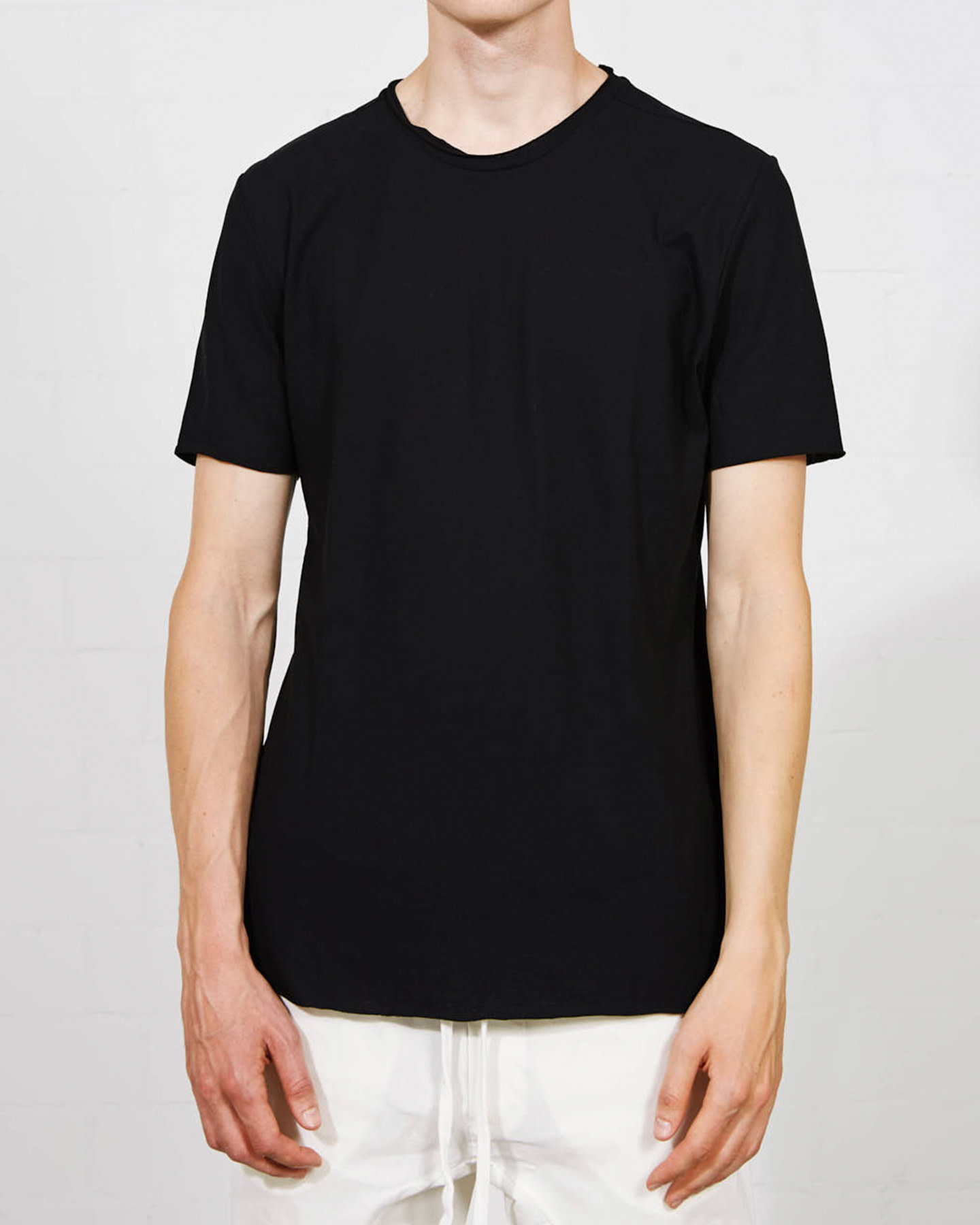 GEO PANEL FITTED COTTON T-SHIRT