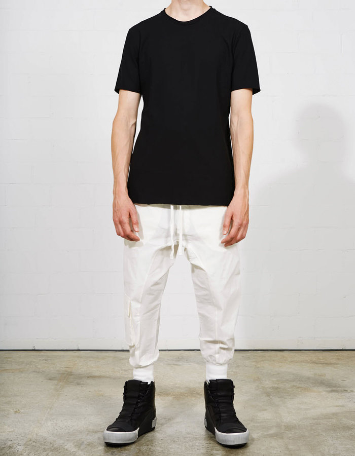 THOM KROM GEO PANEL FITTED COTTON T-SHIRT