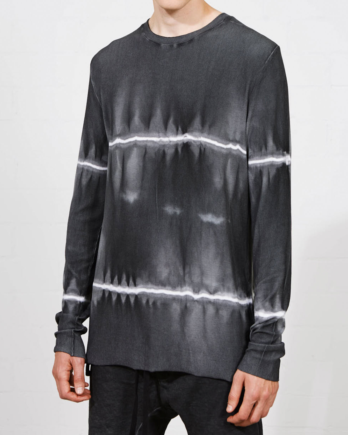 MICRO MODAL STRETCH LONG SLEEVE - MARBLE