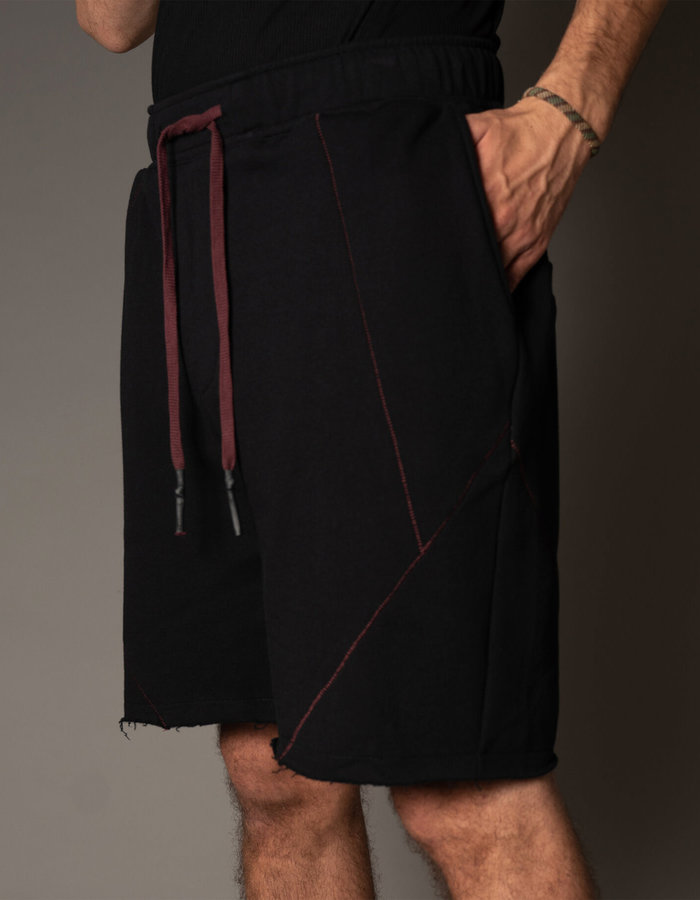FIRST AID TO THE INJURED BAPRI SHORTS - BLACK