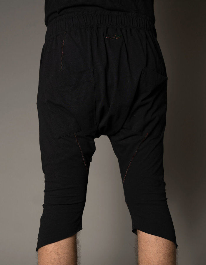 FIRST AID TO THE INJURED JEFFERS SHORTS - BLACK