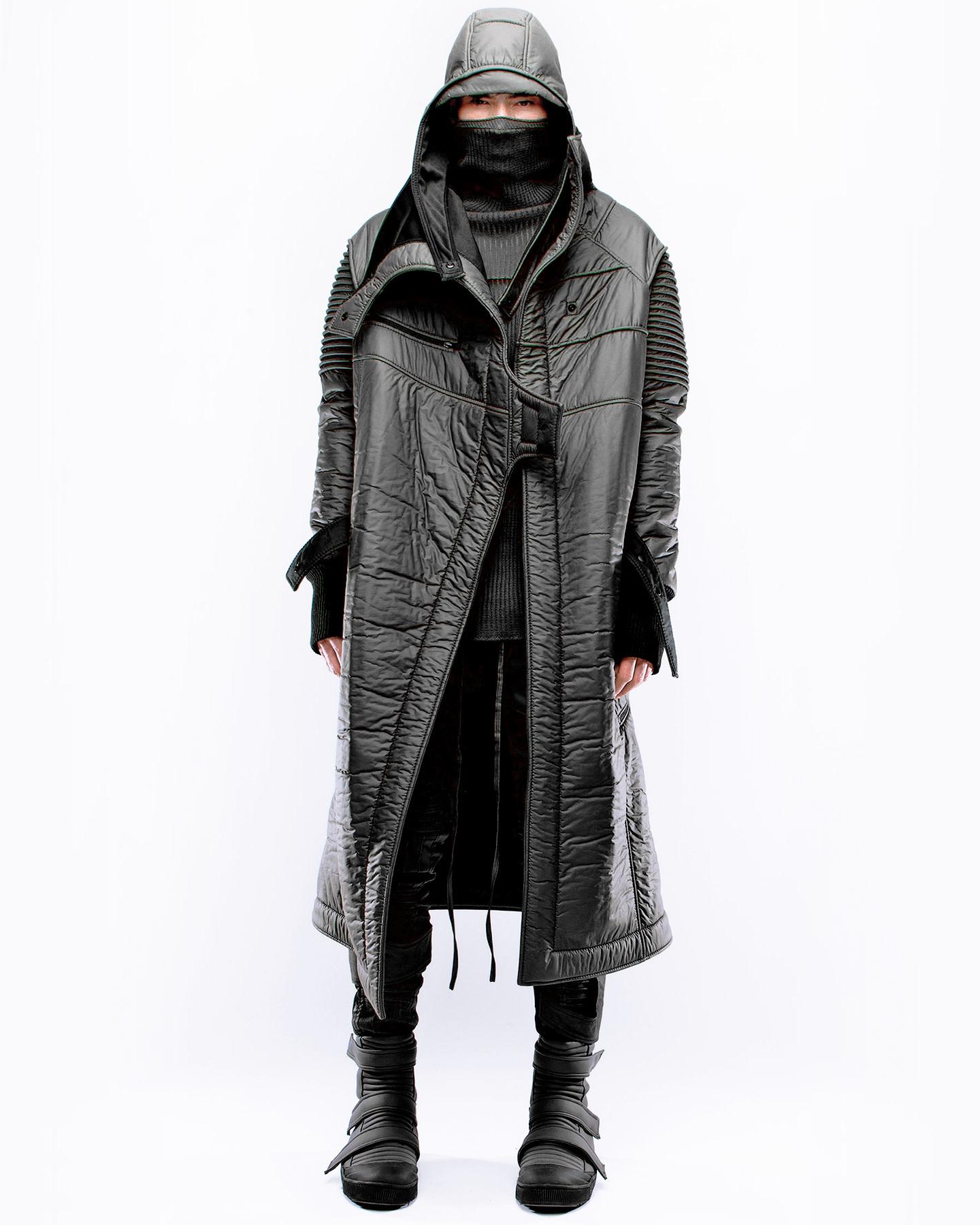 TOP COAT ONENESS M - BLACK
