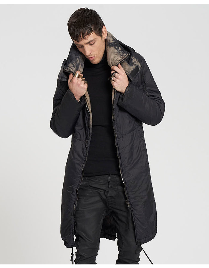 MASNADA REVERSIBLE THINDOWN THICKET PARKA