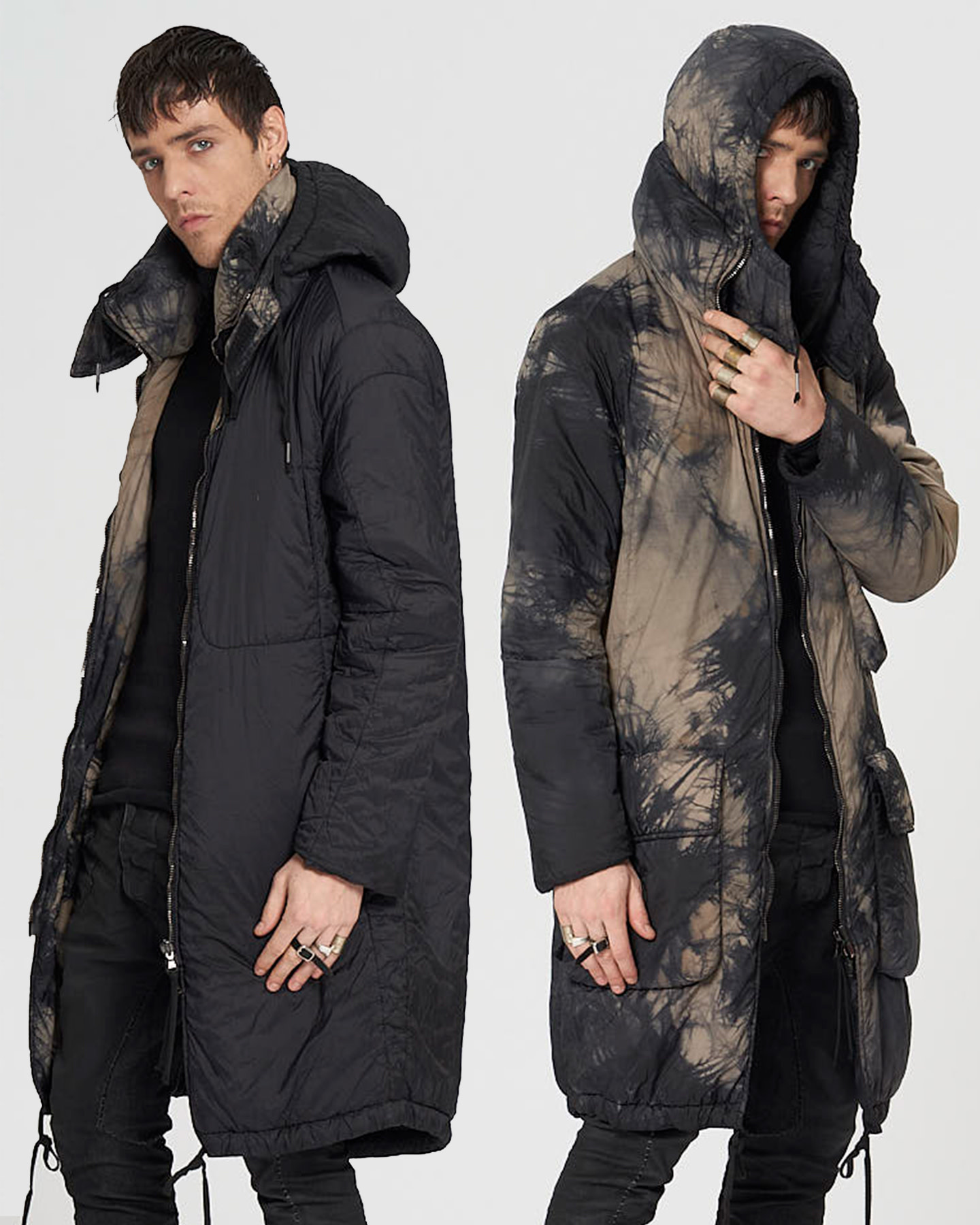 REVERSIBLE THINDOWN THICKET PARKA