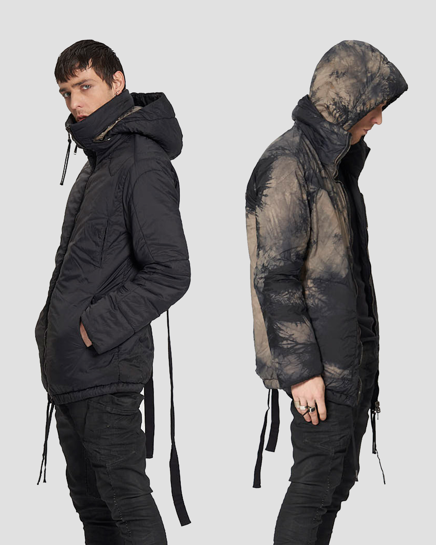 REVERSIBLE THINDOWN THICKET JACKET