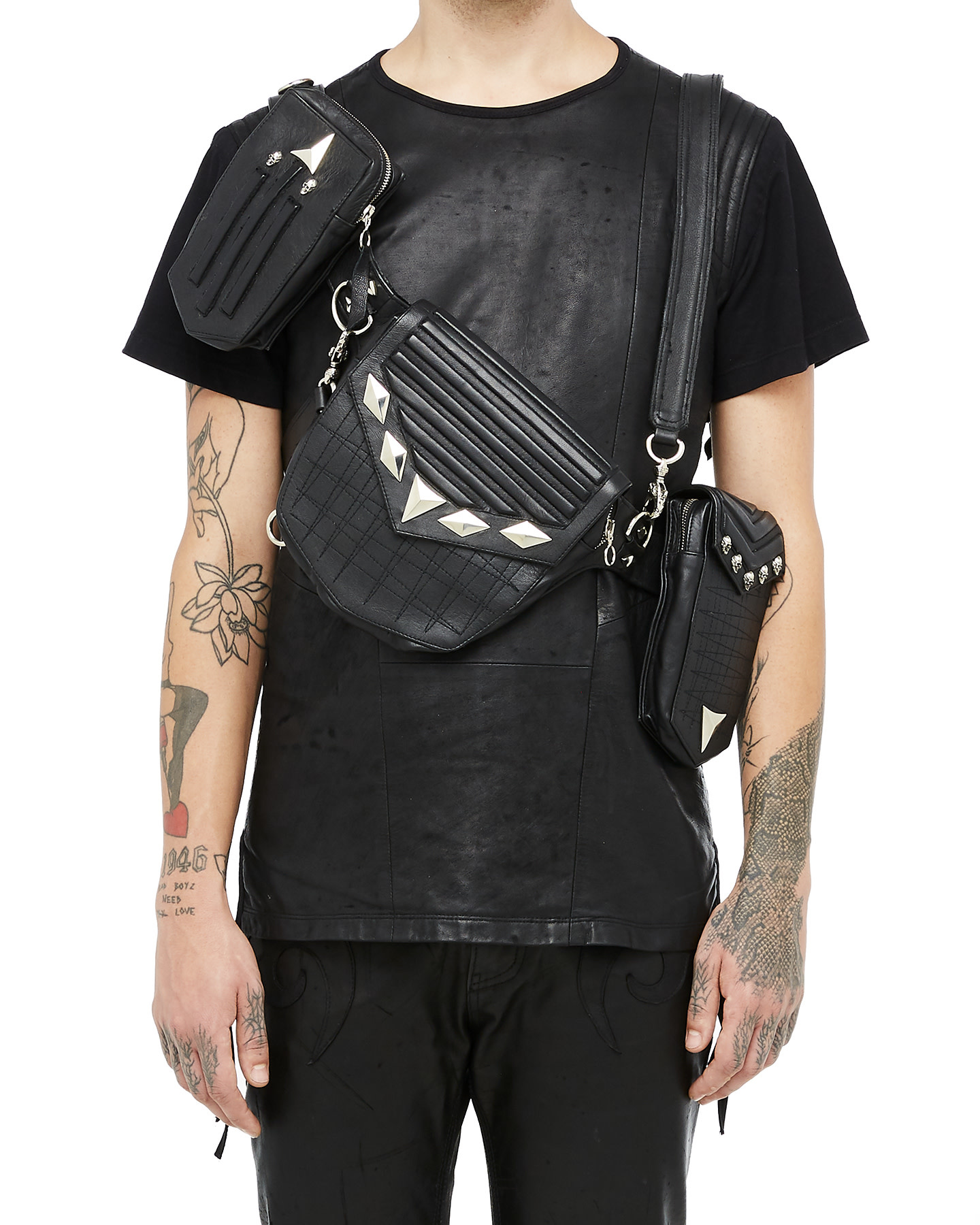 """""""OYSTER"""" MULTI-WAY HARNESS BAGS"""