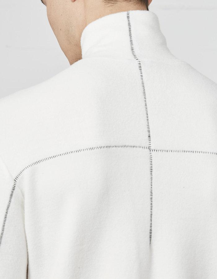 THOM KROM COZY VISCOSE TURTLENECK - OFF WHITE