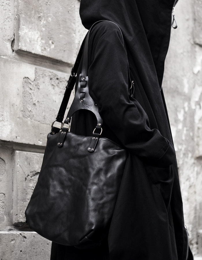 TEO + NG MIKKO LEATHER BACKPACK