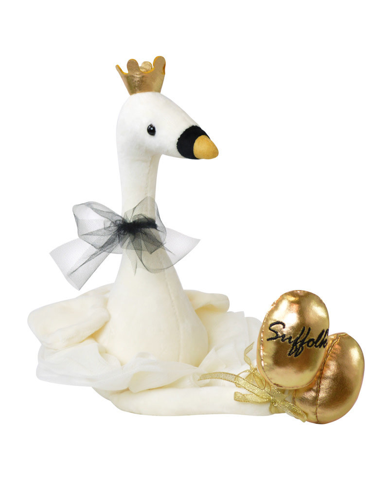 Suffolk 1576 Swan Plush Merde Gift
