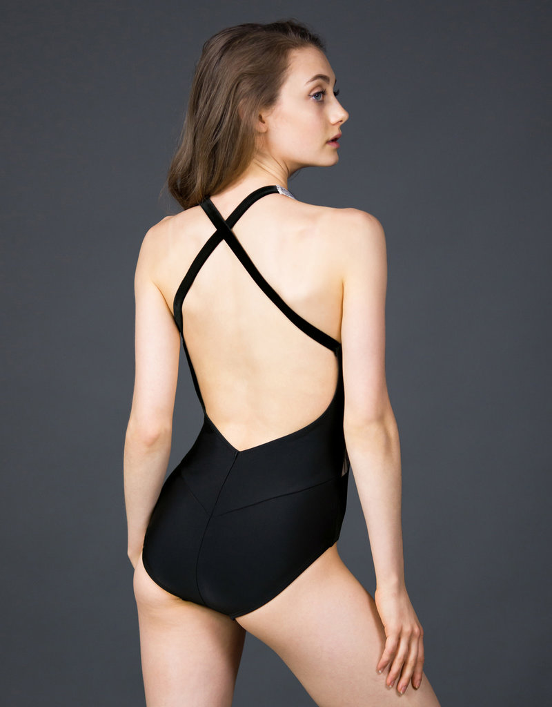 Suffolk 2264A Plume Halter with Cross Back