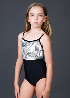 Suffolk 2263C Plume Empire Leotard Tween
