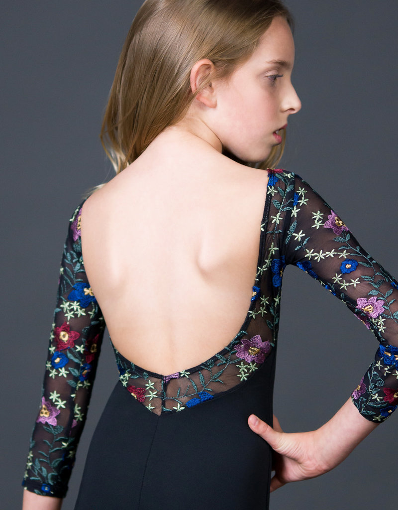 Suffolk 2274C Flora 3/4 Sleeve with Low Back Tween