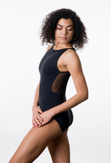 Suffolk 2285A  Jewel Neck with Mesh Fish Back