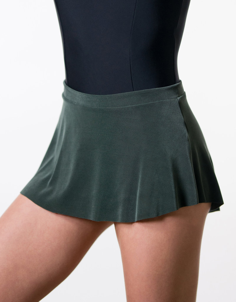Suffolk 1006A Pull-on High Low Slinky Skirt