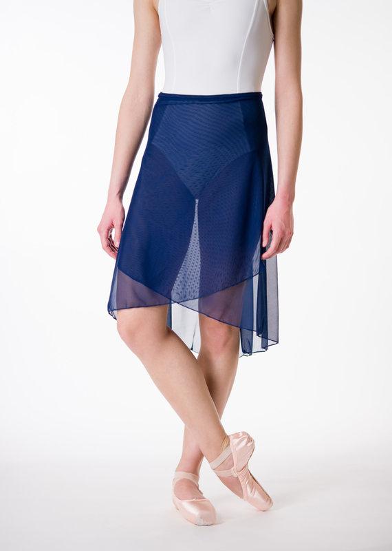 Suffolk 1011A High Low Wrap Skirt