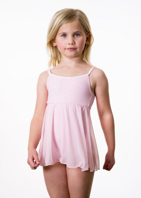 Suffolk 8009C Camisole Dress with Mesh Skirt