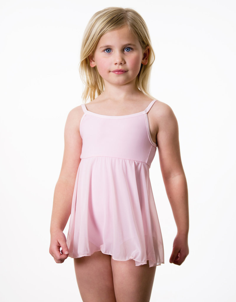Suffolk Camisole Dress with Mesh Skirt