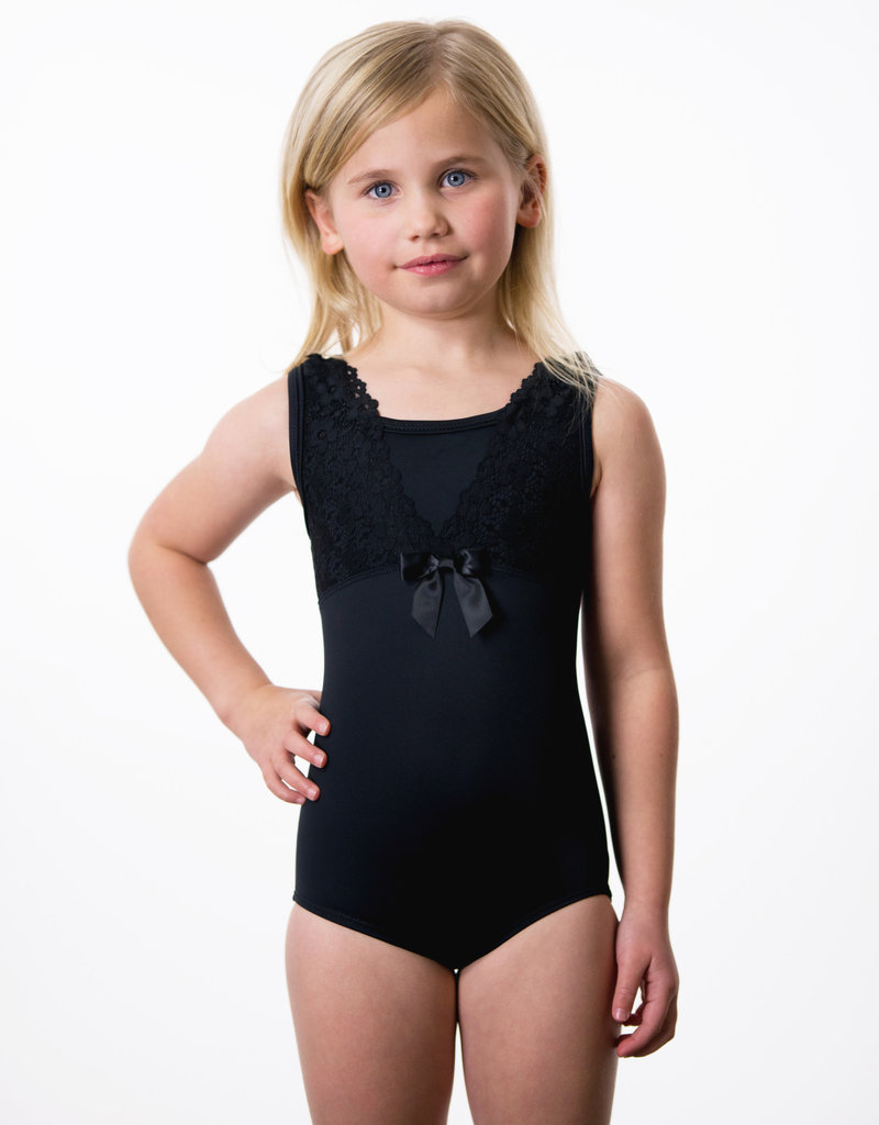 Suffolk 2161C Empire Tank with Lace Overlay