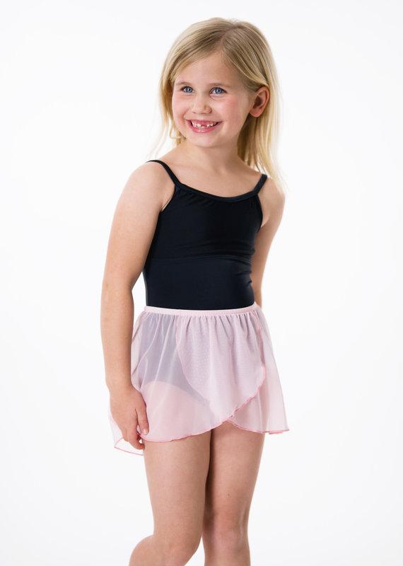 Suffolk 1001C Kid's Mock Wrap Skirt