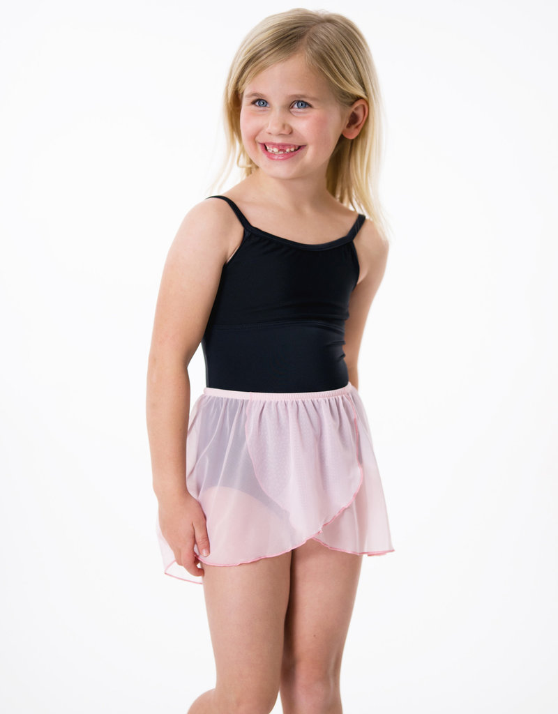 Suffolk 1001C Kid's Mock Wrap Skirt