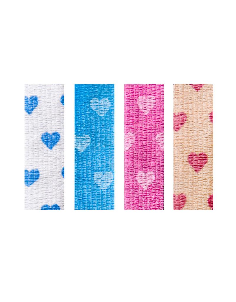 Suffolk 1544 Heart Toe Tape 4 Pack