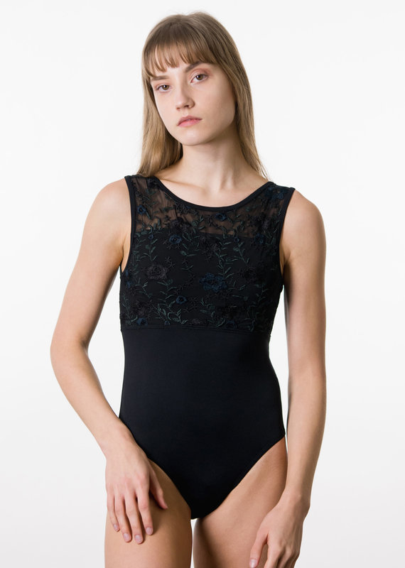 Suffolk 2350A Midnight Blooms Illusion Scoop Back