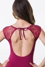 Suffolk 2340A Holiday Illusion Lace Flutter Sleeve