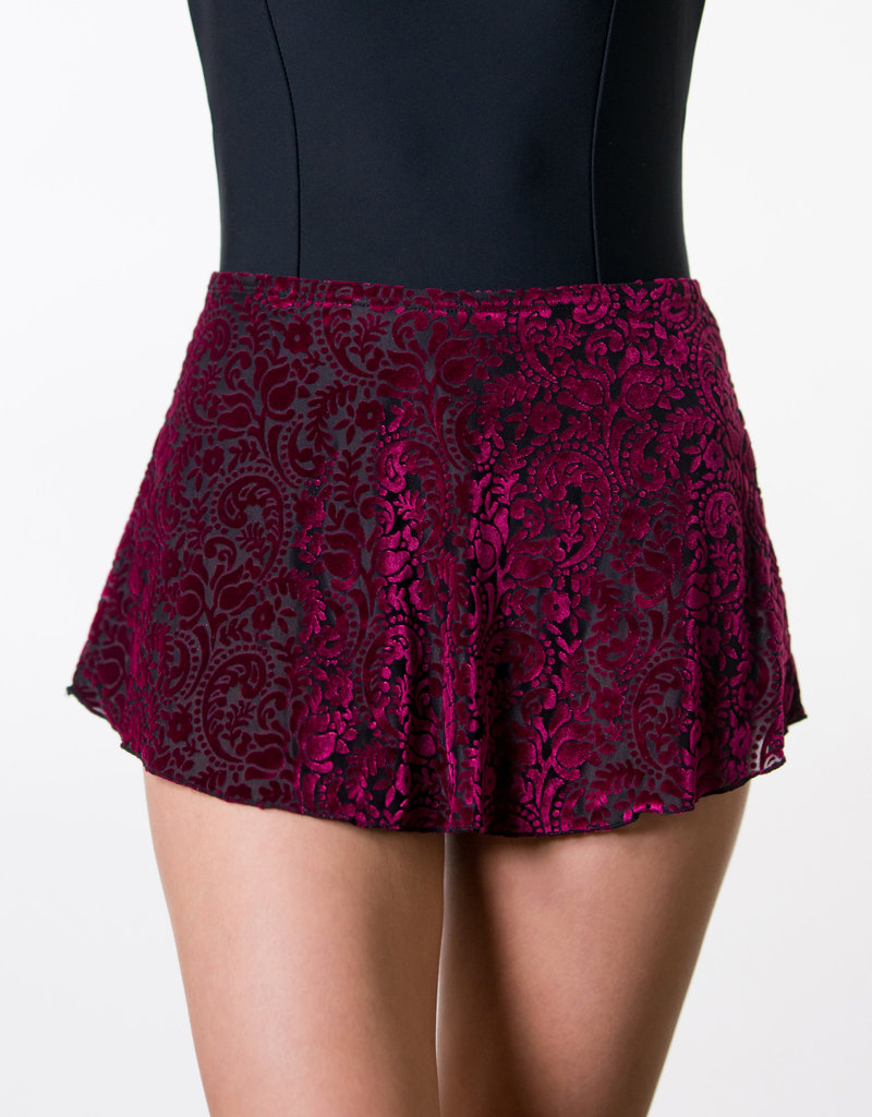 Suffolk 1009A Winter High Low Pull-On Skirt