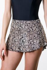 Suffolk 1009C Winter Gala High Low Pull-On Skirt Tween