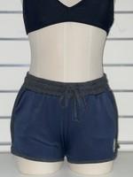 FYM Lotus Logo Cotton Shorts