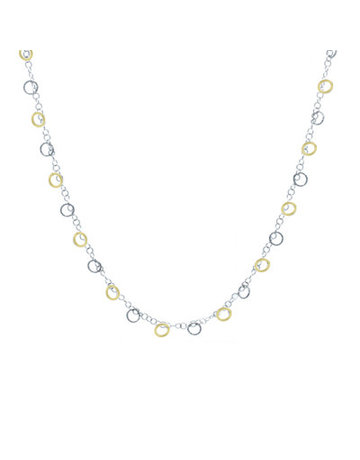 Frederic Duclos SS and Yellow Gold Plated Imagination Necklace