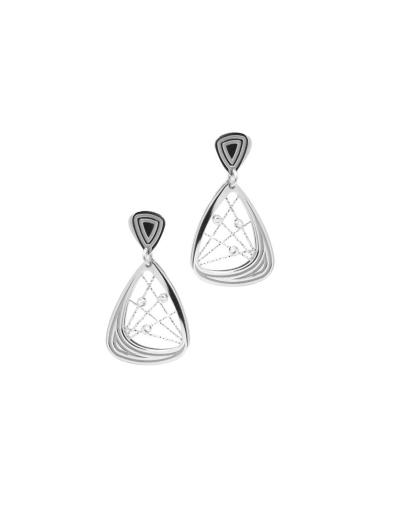 Frederic Duclos Fredric Duclos Sterling Silver Madelaine Earrings