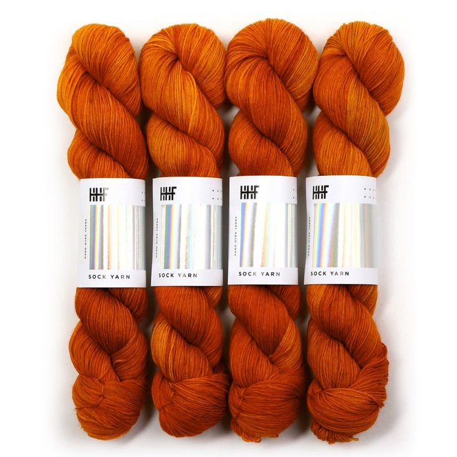 Sock Yarn Rusty Nail