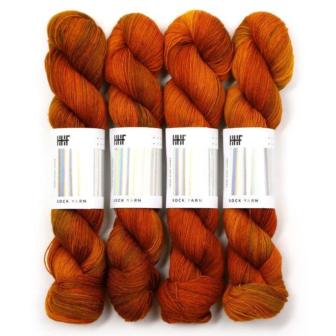 Sock Yarn Copper Penny