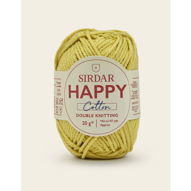 Happy Cotton DK 771 Buttercup