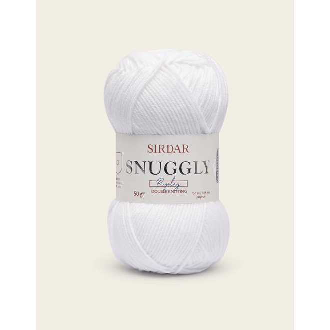 Snuggly Replay DK 0100 Whizz Kid White