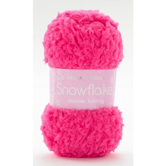 Snuggly Snowflake DK 654 Bright Pink