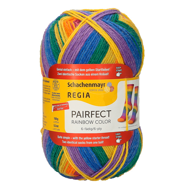 6-Ply Rainbow Color