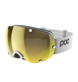 POC Lobes Clarity Hydrogen White w/Spektris Gold and Violet