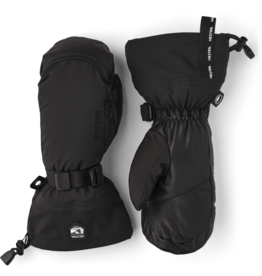 HESTRA Army Leather Extreme Mitt  Black/Black