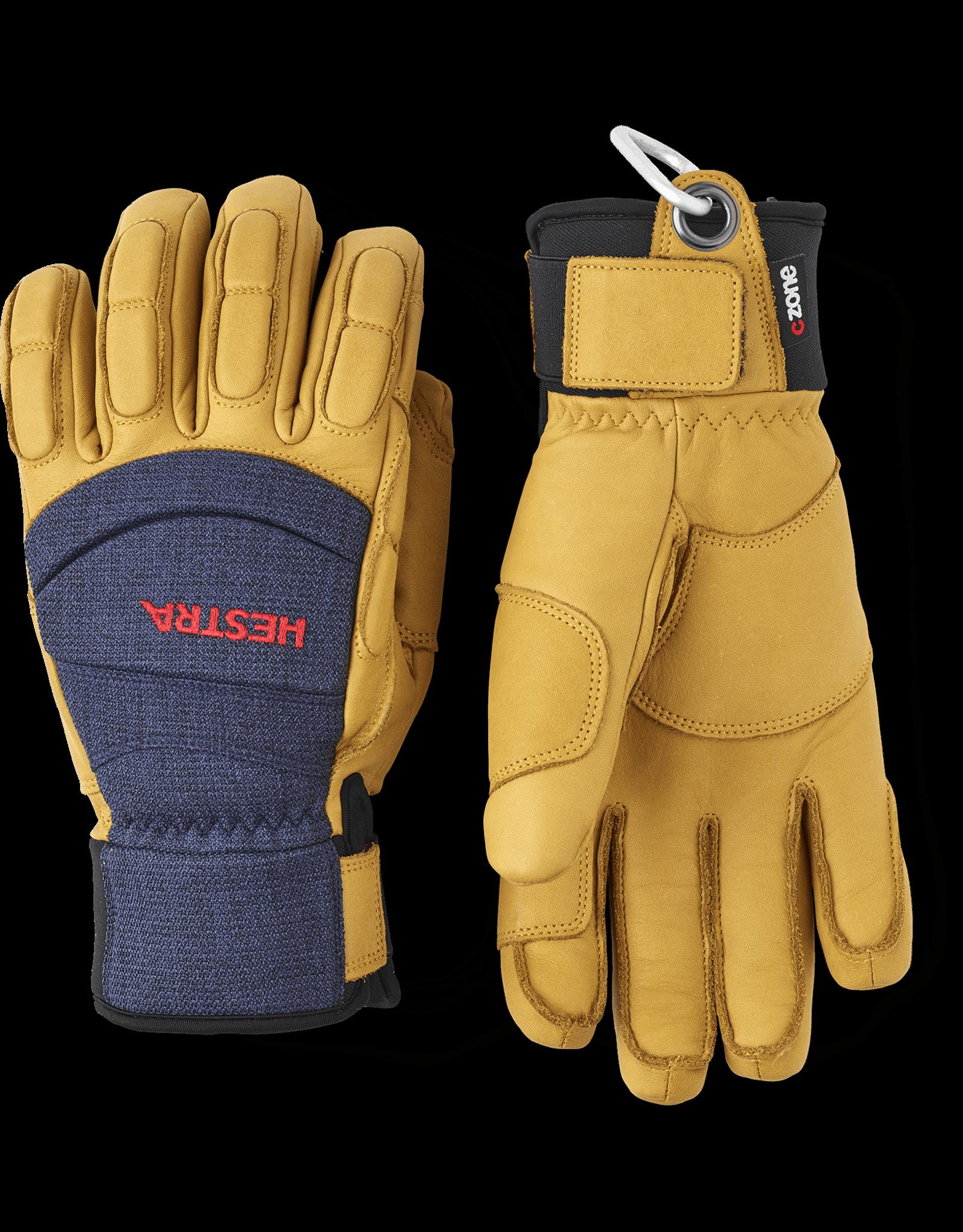 HESTRA Vertical Cut CZone Glove Navy/Tan