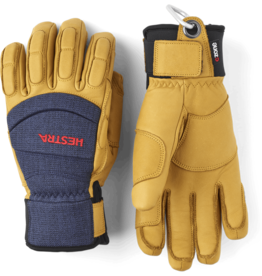 HESTRA Vertical Cut CZone Glove Navy/Tan