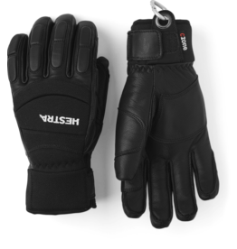 HESTRA Vertical Cut CZone Glove Black/Black