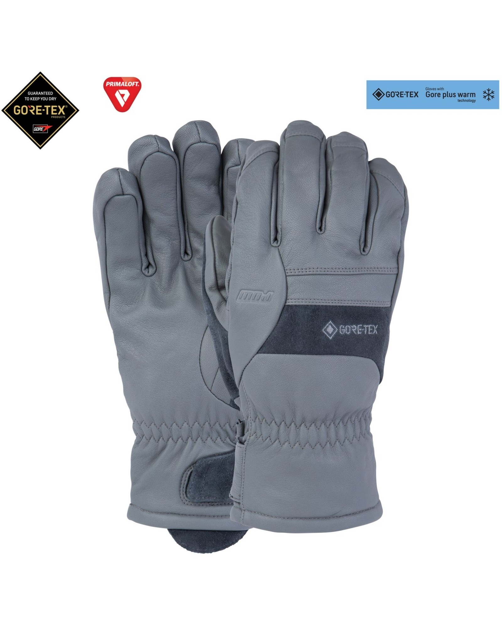 POW Stealth Gore-Tex Glove Gunmetal Grey