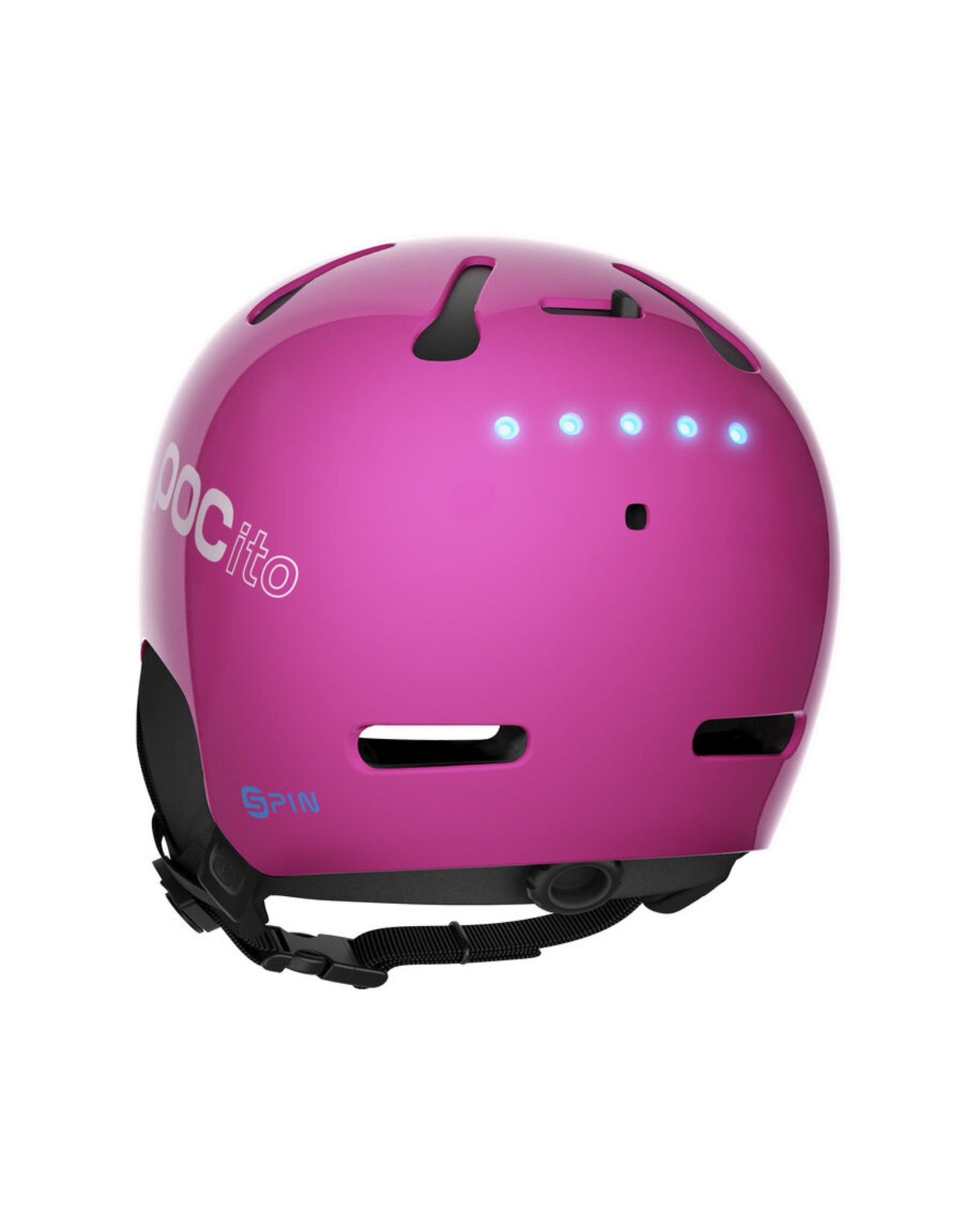 POC Pocito Auric Cut SPIN Fluorescent Pink