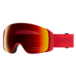 SMITH 4D MAG Lava Sun Red Mirror w/Chromapop Storm Yellow Flash