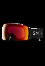 SMITH I/O MAG XL Black w/Chromapop Everyday Red and Storm Yellow Flash