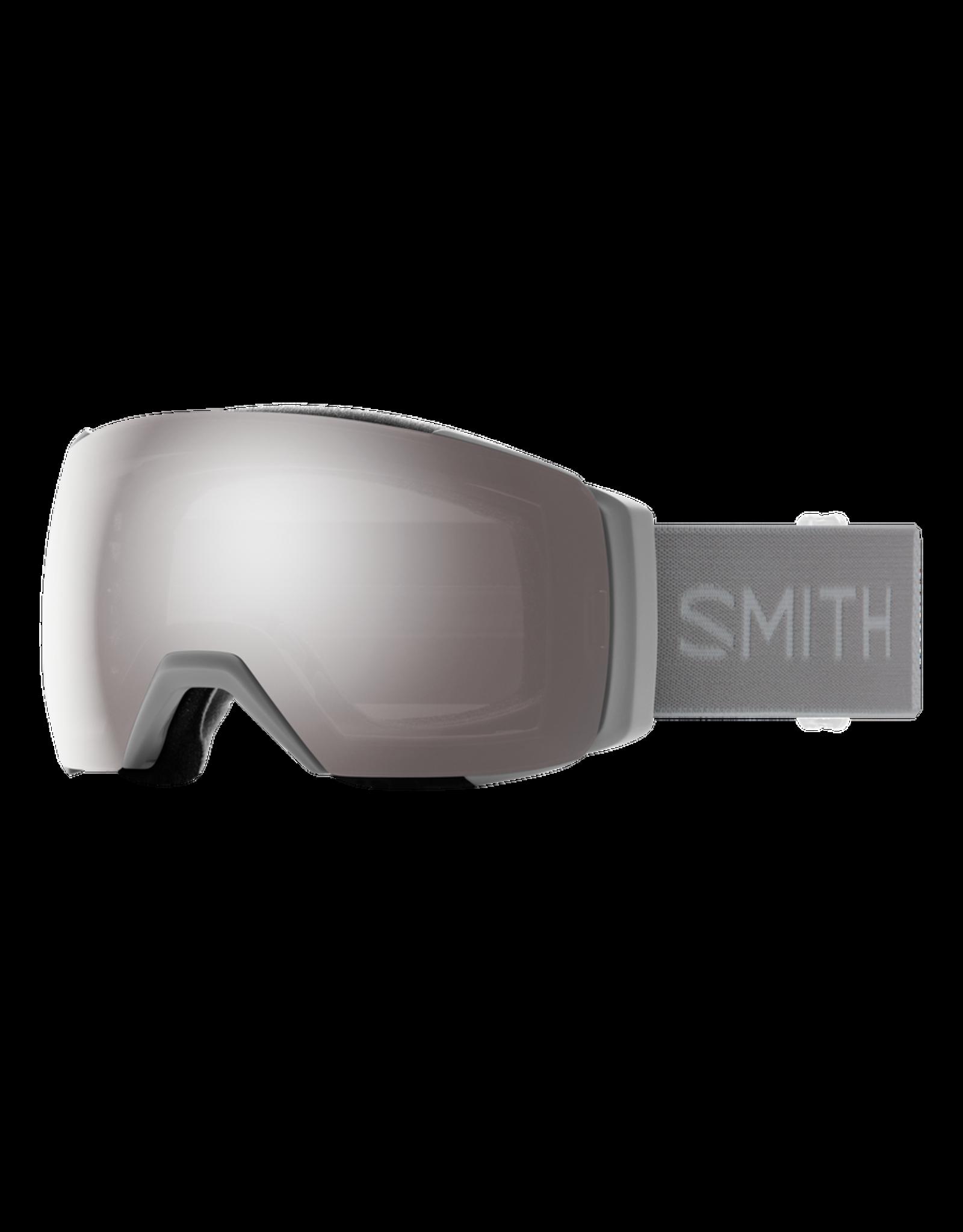 SMITH I/O MAG Cloudgrey w/Chromapop Sun Platinum and Chromapop Storm Rose Flash