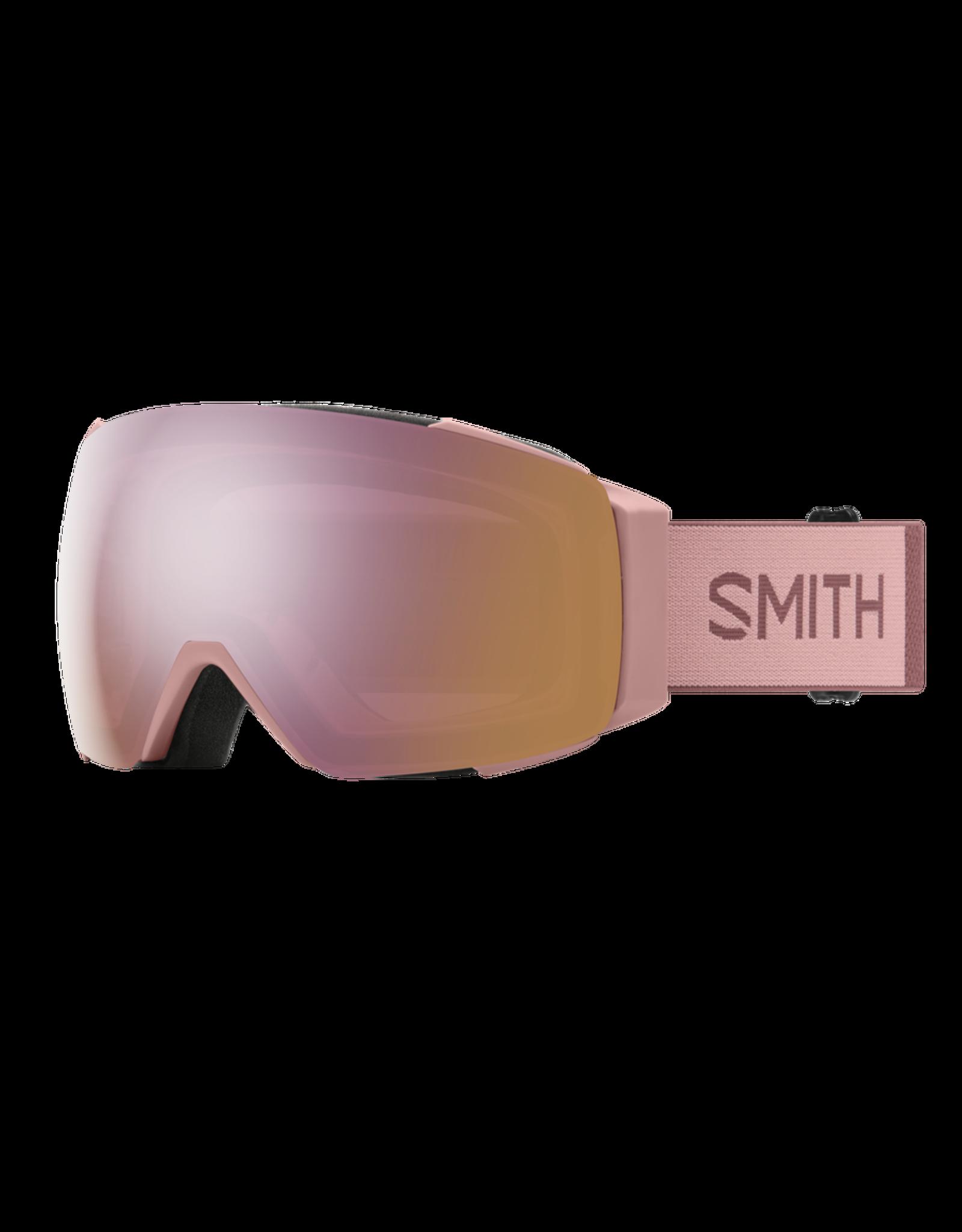 SMITH I/O MAG Rock Salt Tannin w/Chromapop Rose Gold and Storm Rose Flash