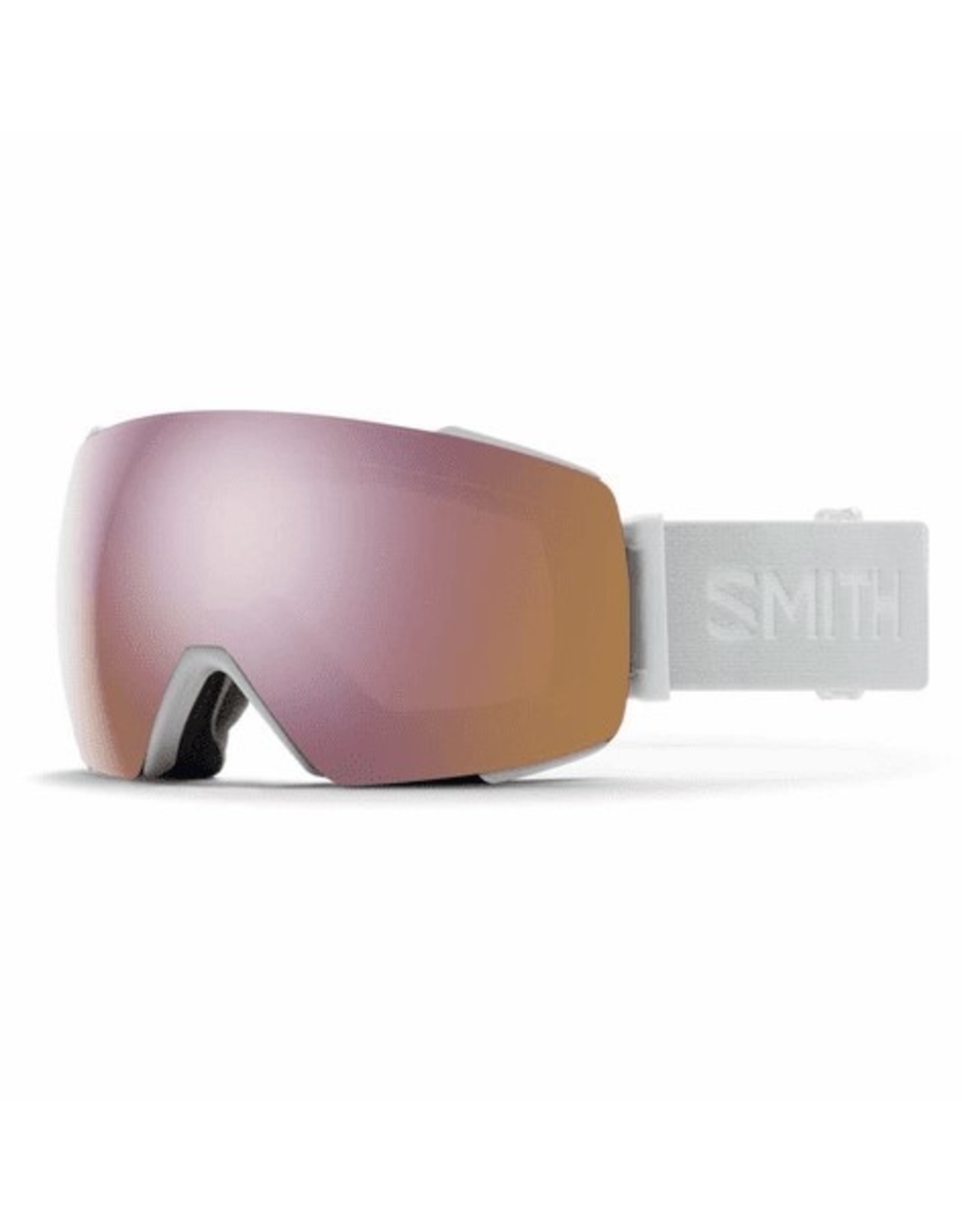 SMITH I/O MAG - White Vapor w/Chromapop Rose Gold and Storm Rose Flash